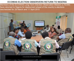 Pic. 1.A Cross Section of Ecowas Election Observer