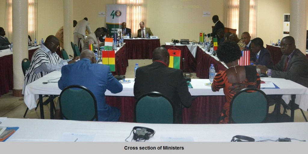 Cross section of ministers