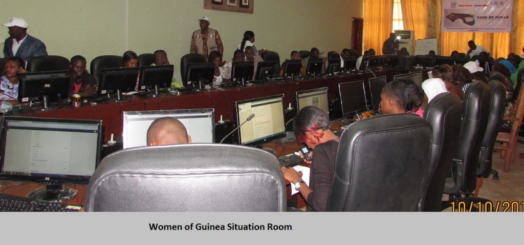 Women of Guinea Situation Room