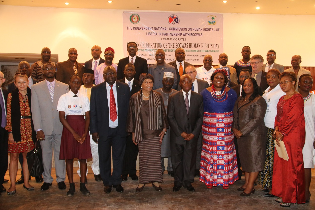 President Sirleaf Congratulates Ecowas As Regional Group Celebrate Ecowas Human Rights Day Receives Special Envoy From Chad Economic Community Of West African States Ecowas