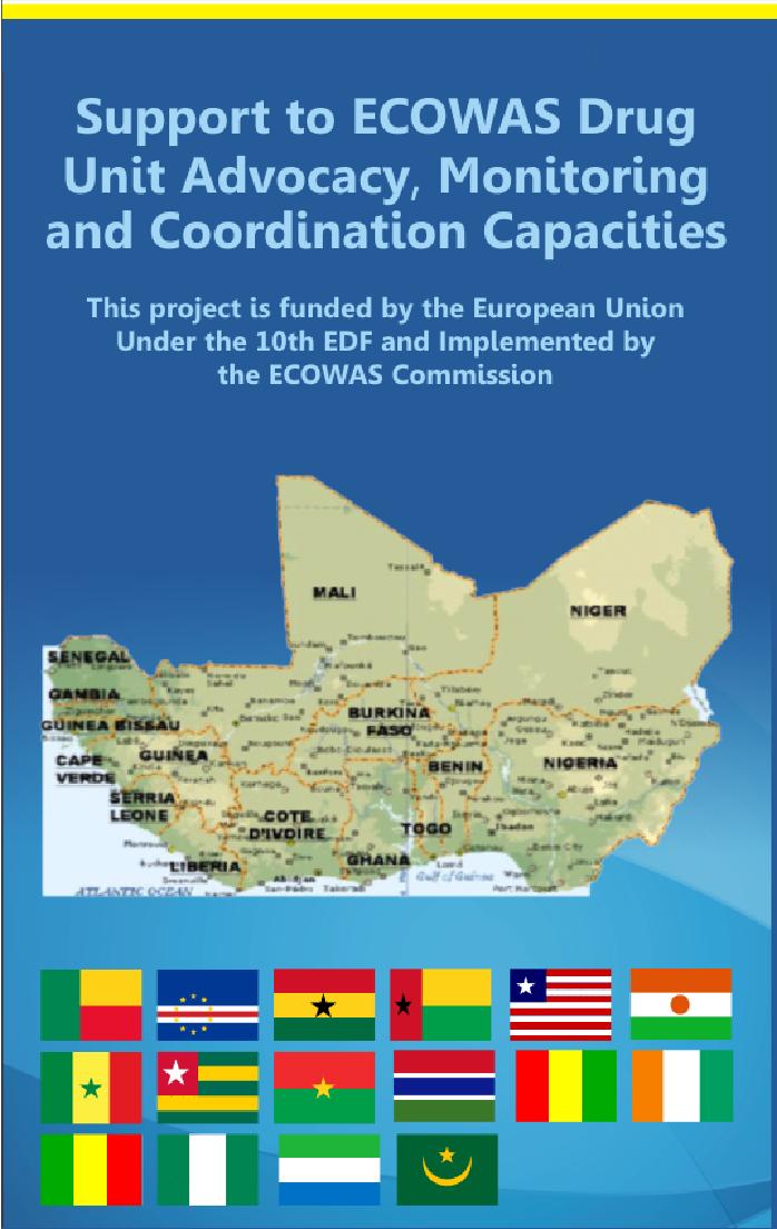 ECOWAS Drug Unit Portal