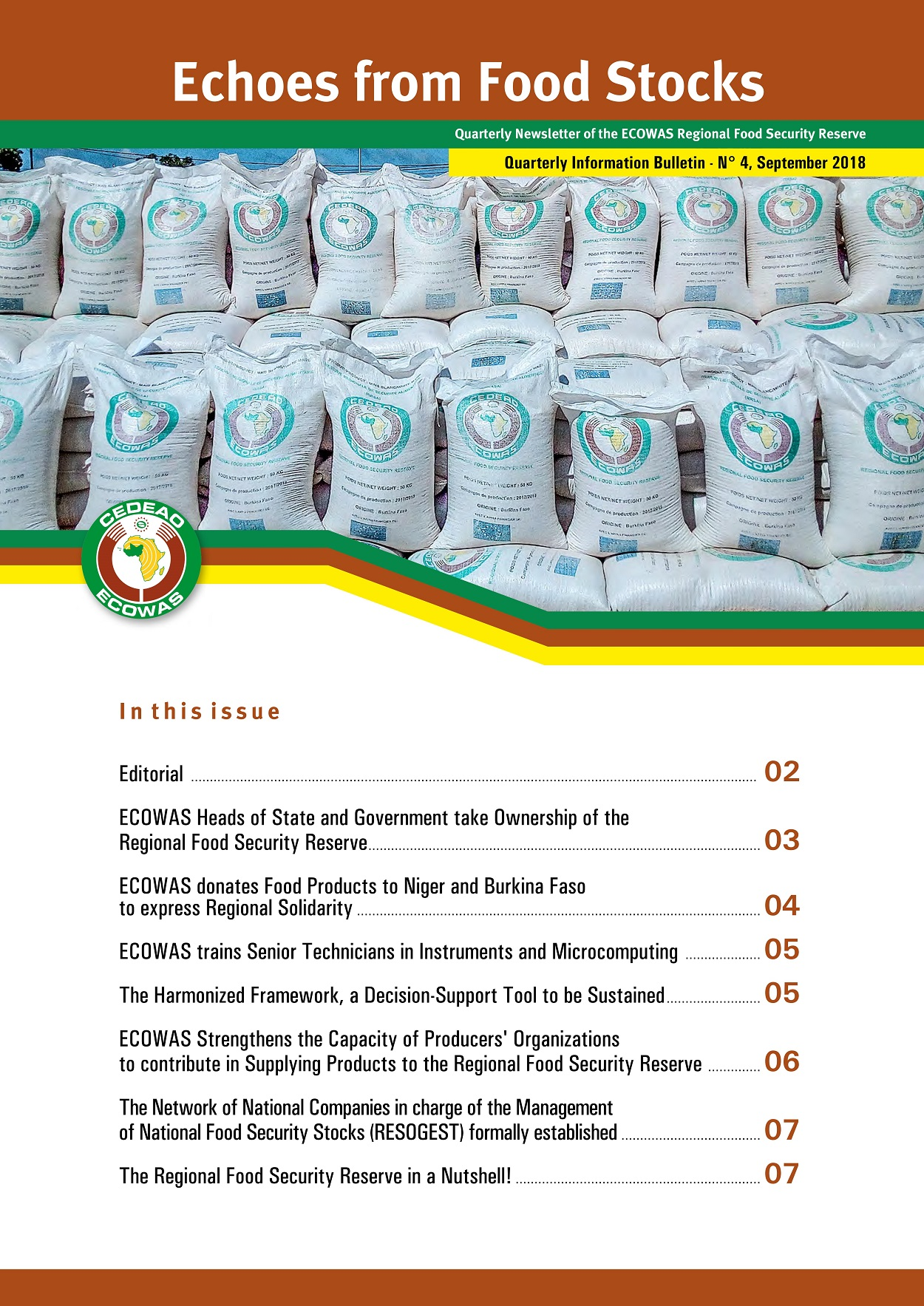 Economic Community of West African States(ECOWAS) |