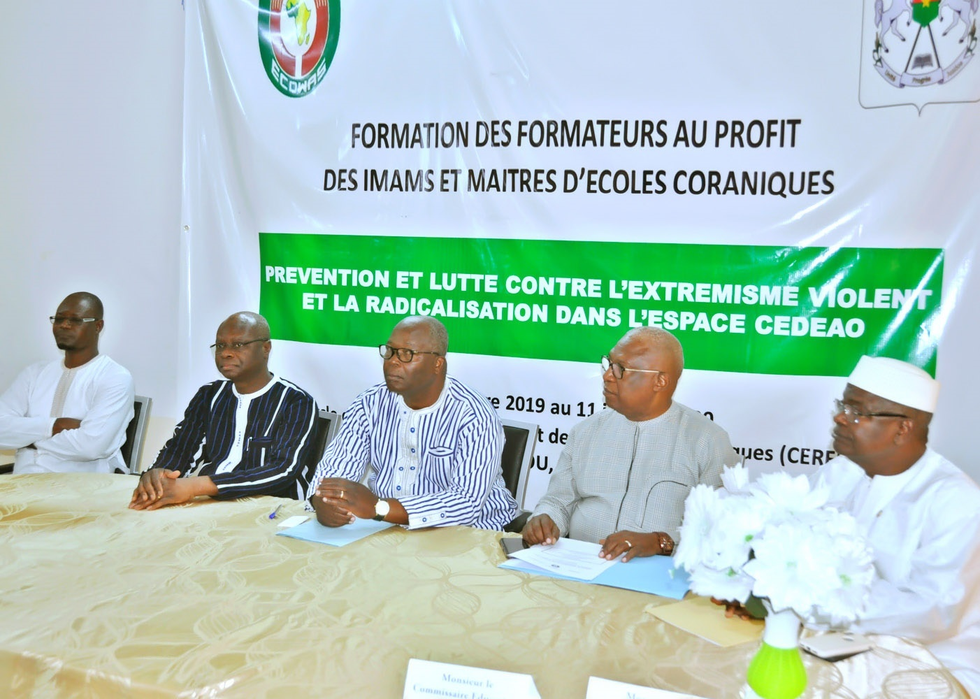 Ecowas Enhances The Skills Of Imams And Teachers Of Koranic Schools In Burkina Faso To Counter Violent Extremism And Radicalisation In West Africa Economic Community Of West African States Ecowas