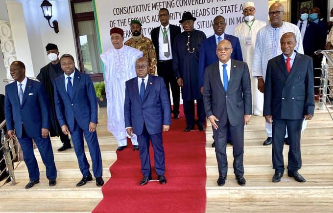 Communiqué on the Accra Meeting between ECOWAS Heads of State and the CNSP  (MALI) | Economic Community of West African States(ECOWAS)