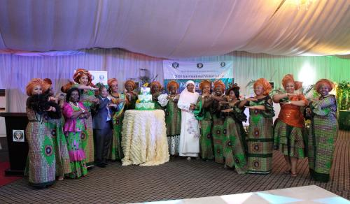 Cutting of the Cake- International Women's Day Celebrations
